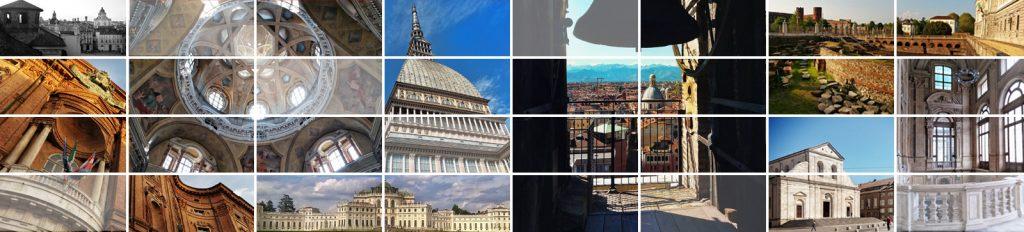 collage di foto di Torino