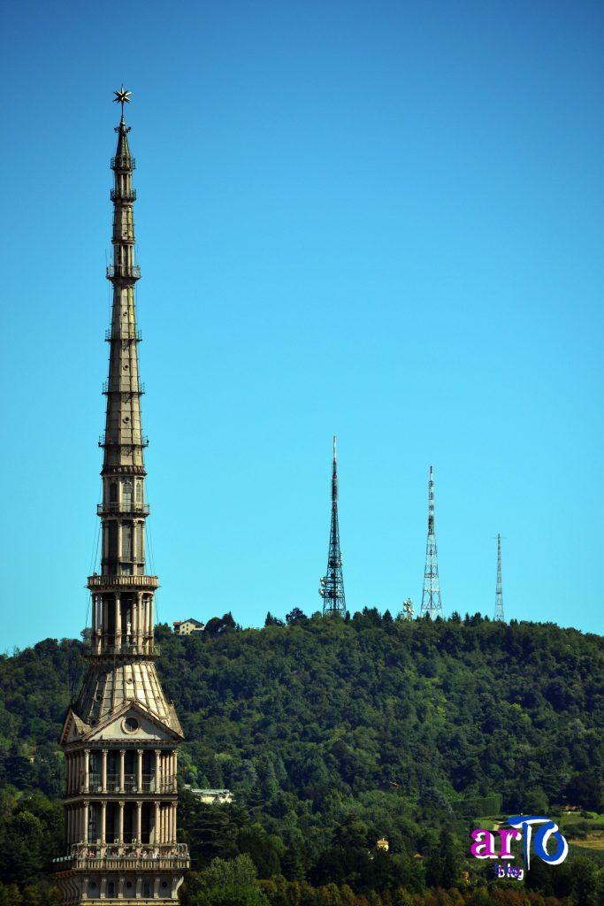 La mia galleria fotografica di Torino - La Mole Antonelliana dal campanile del Duomo di Torino