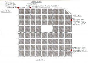I ritrovamenti archeologici delle torri romane di Iulia Augusta Taurinorum(©disegno GAT 2009)