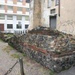 Tratto di mura romane in Via Egidi. Fotografia di Enrico Lusso, 2010