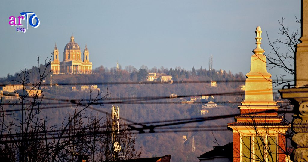 La mia galleria fotografica di Torino - Panorama con la Basilica di Superga