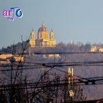 Panorama con la Basilica di Superga