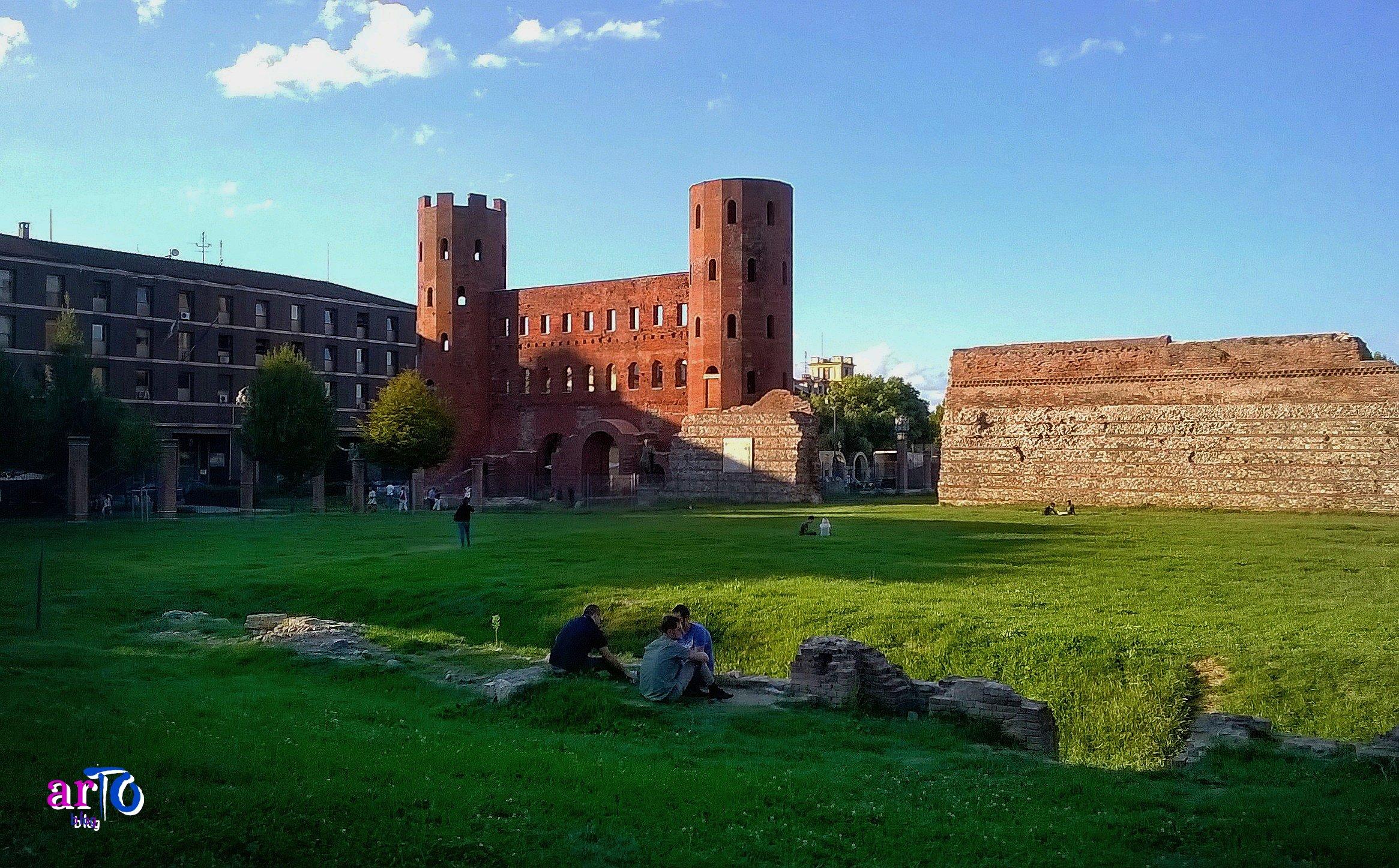 Porta Palatina nel corso dei secoli - Parco archeologico della Porta Palatina