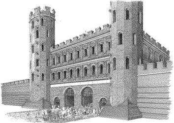 Porta Palatina - Ricostruzione ©Francesco Corni