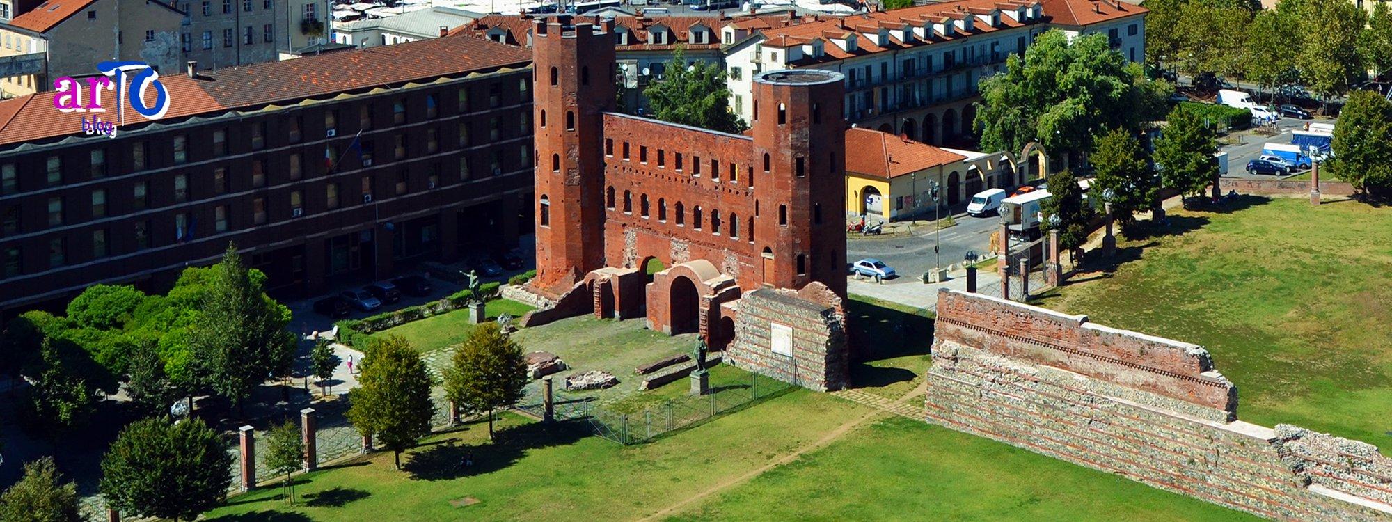 Porta Palatina - Veduta dall'alto