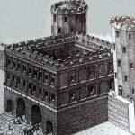Porta Palatina - disegno di ©Francesco Corni