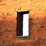 Porta Palatina- finestre a piattabanda piana
