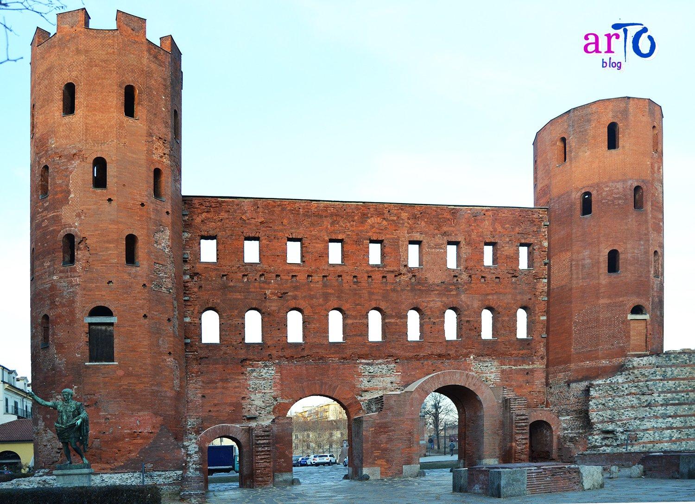 Porta Palatina - i quattro fornici