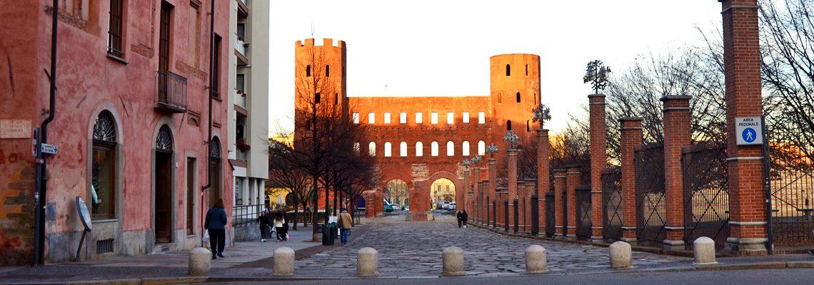 Porta Palatina - immagine in evidenza
