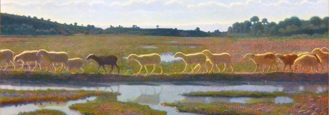 Lo specchio della vita di Pellizza da Volpedo - immagine in evidenza