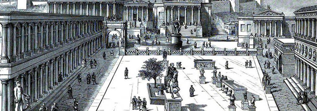 Il foro di Iulia Augusta Taurinorum - Immagine in evidenza