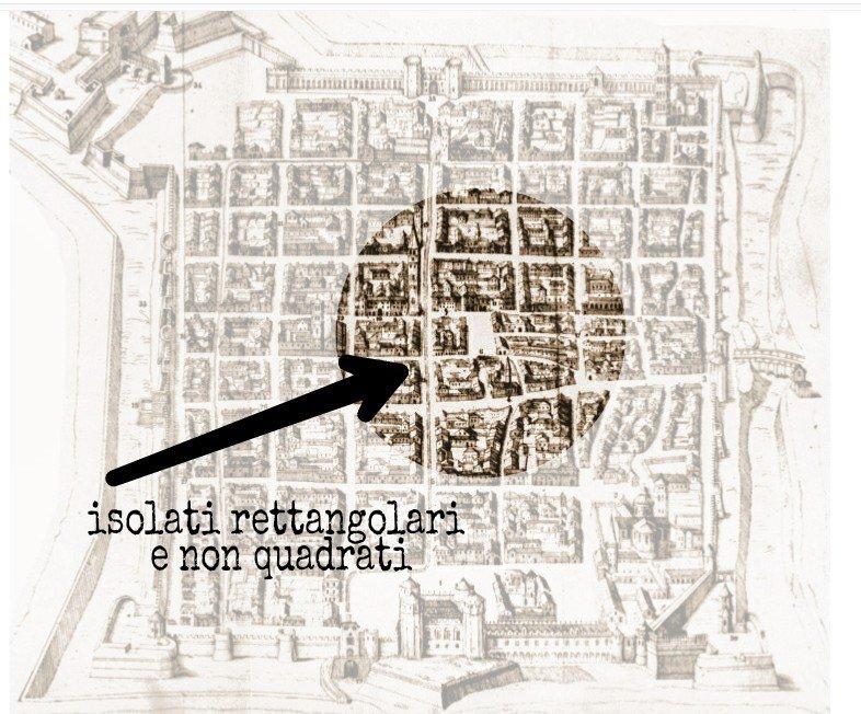 Il foro di Iulia Augusta Taurinorum - L'incisione di Giovanni Caracha (1572)