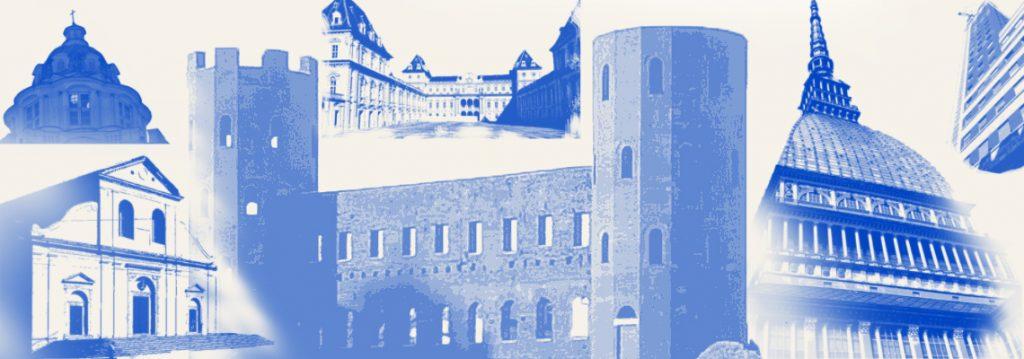 immagine in evidenza della pagina analisi delle opere con alcuni degli edifici più famosi di Torino