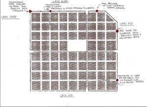 I ritrovamenti archeologici delle torri romane di Iulia Augusta Taurinorum (©disegno GAT 2009)
