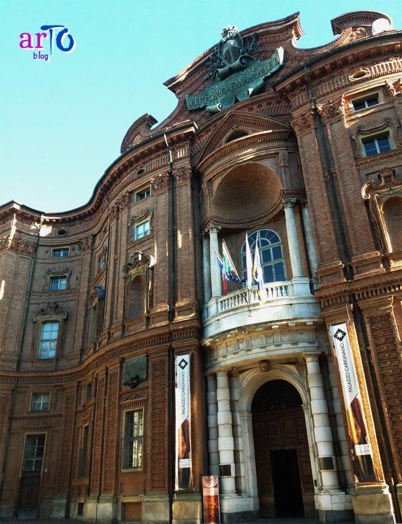 facciata Palazzo Carignano Torino
