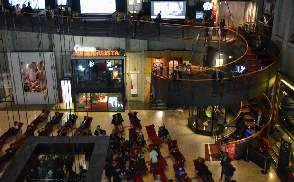 rampa elicoidale Aula del Tempio - museo nazionale del cinema