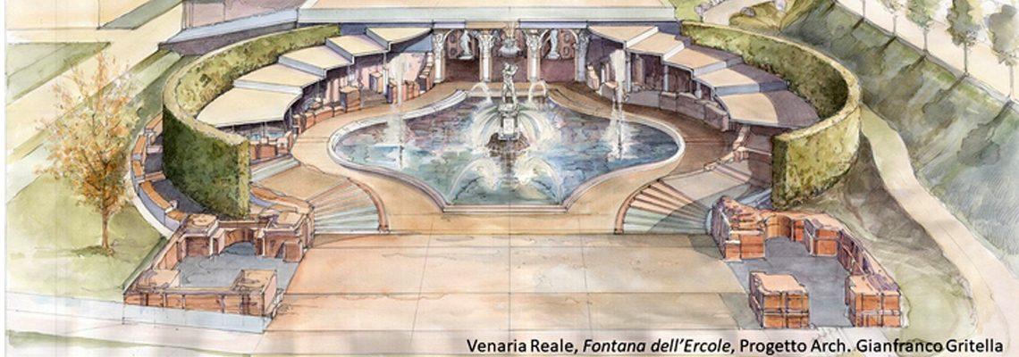 il restauro della fontana d'ercole venaria reale