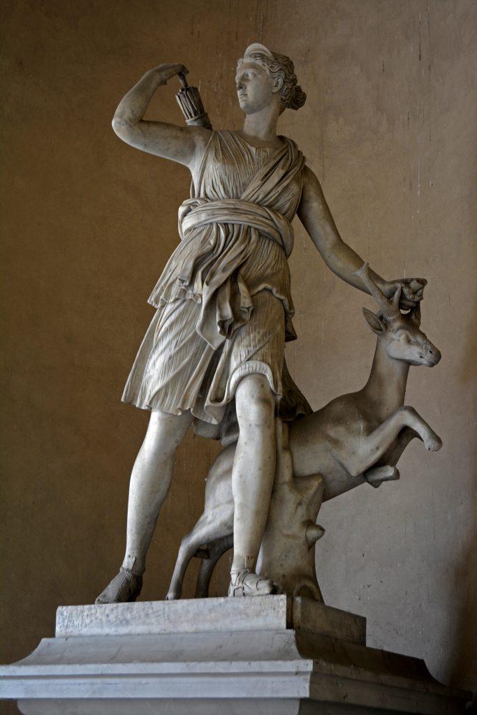 statua di Diana a Palazzo Reale Torino - concorso libera l'arte