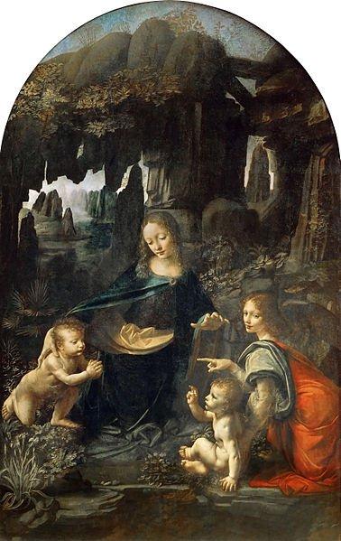 Vergine delle Rocce - Leonardo da Vinci - Louvre