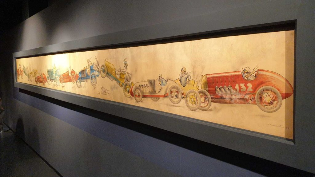 L'incidente di Carlo Biscaretti - Museo dell'automobile
