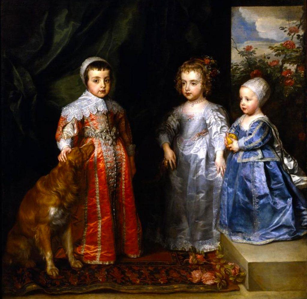 Ritratto dei figli maggiori di Carlo I - Van Dick ©Corriere-Web-Torino