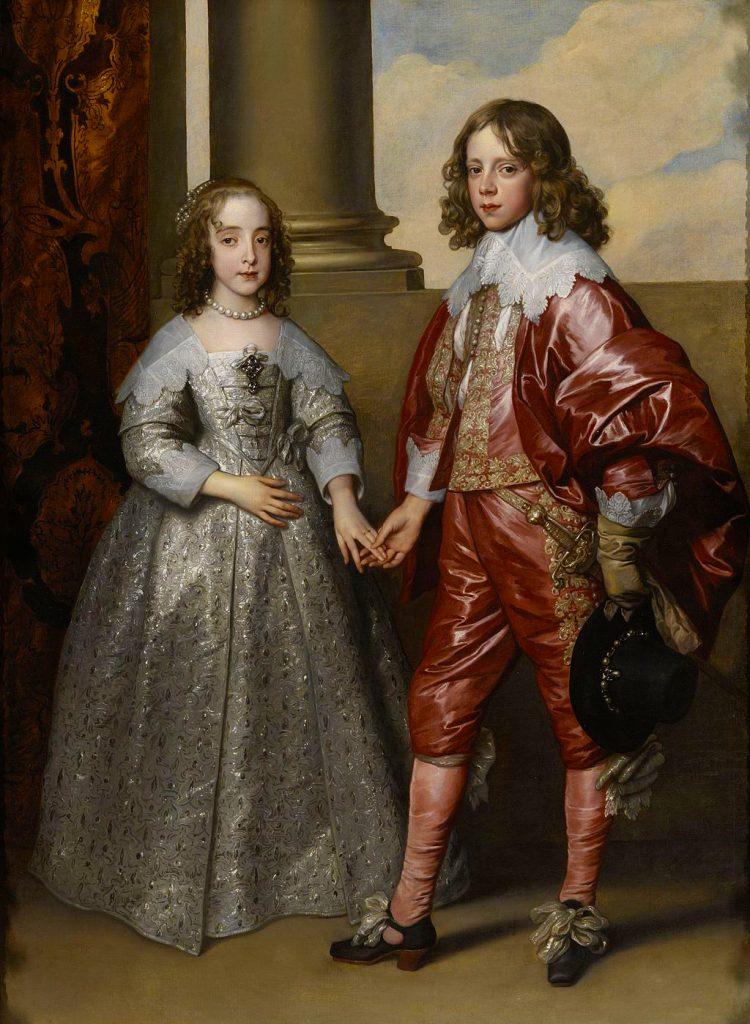 Ritratto di Guglielmo II di Nassau-Orange e la principessa Maria