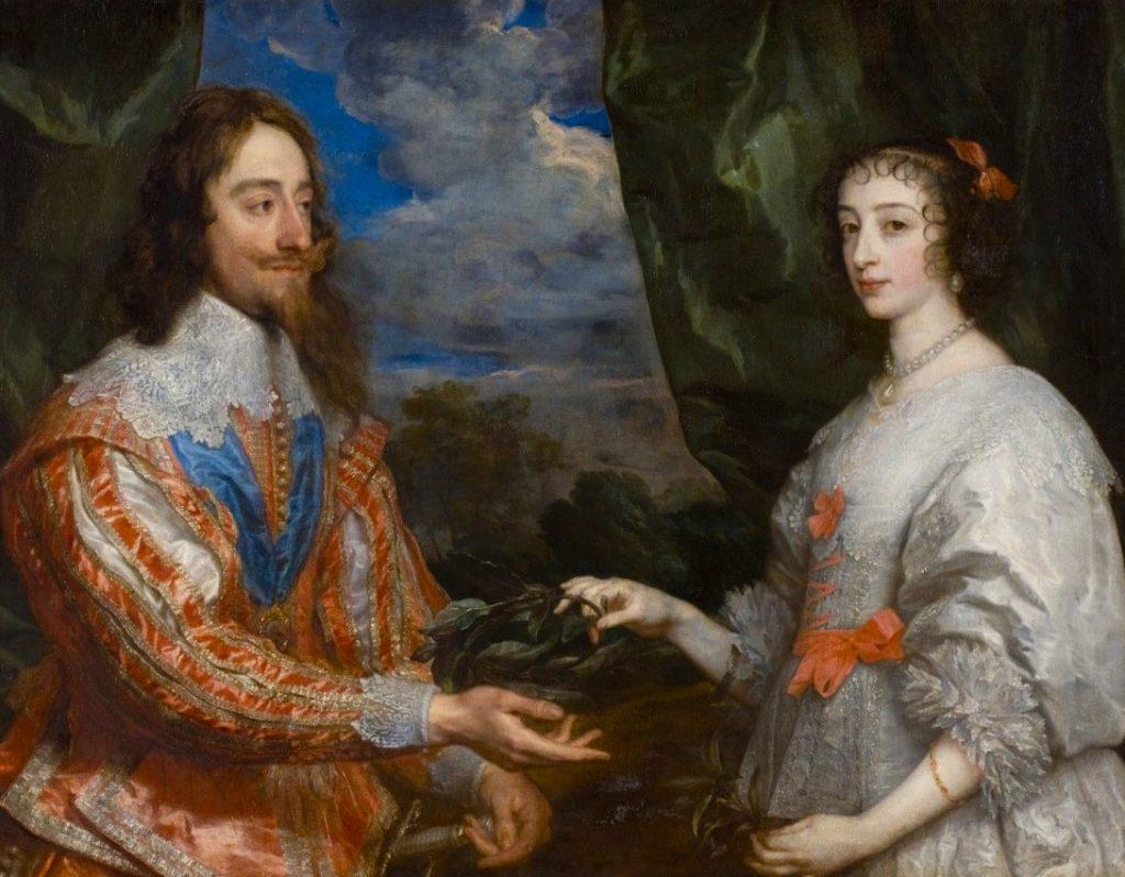 Ritratto di re Carlo I e della regina Enrichetta Maria - Van Dick