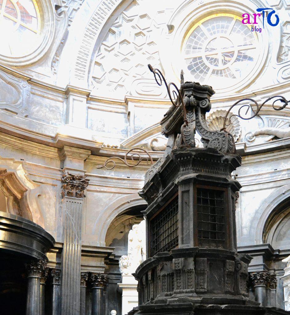 restauro dell'altare della Cappella della Sindone