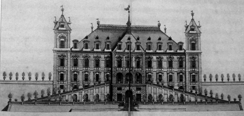 Carlo di Castellamonte, primo progetto per il Palazzo del Valentino ©Biblioteca-Nazionale-di-Torino