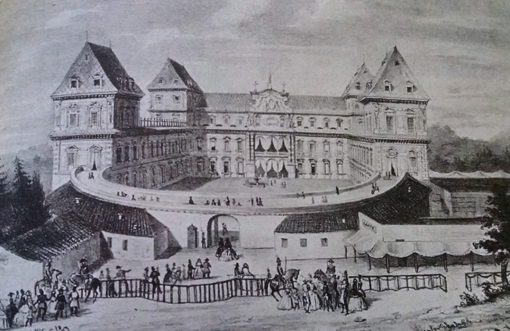 Castello del Valentino Sesta Esposizione Nazionale dei prodotti dell'industria  © Archivio-Storico-della-Città-di-Torino