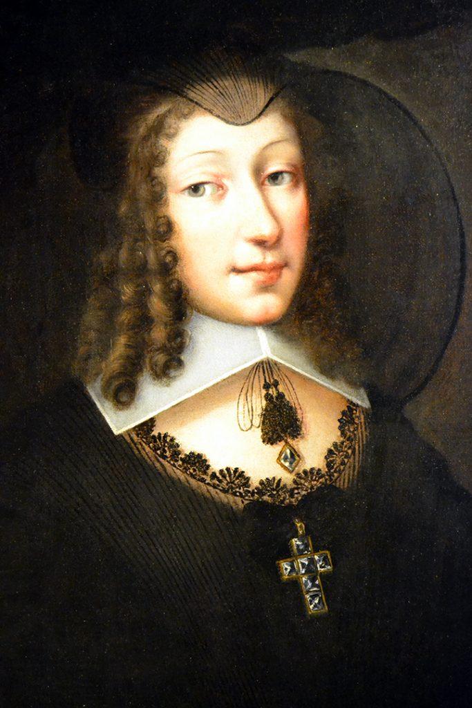 Cristina di Francia in abiti vedovili1640-1645  ©collezioni arte Intesa San Paolo