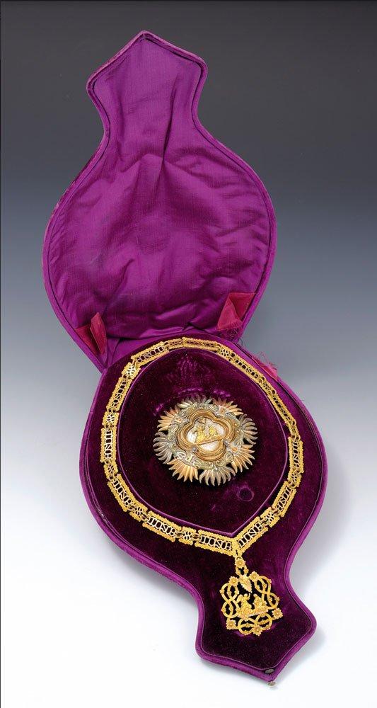 Piccolo collare dell'Ordine supremo della Santissima Annunziata - Museo Accorsi Ometto Torino
